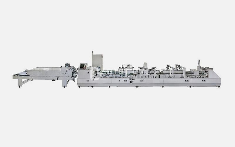 D-Fold Carton Gluer