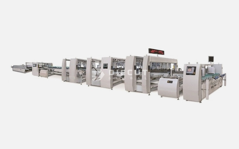 D-Fold Multi Point Gluer